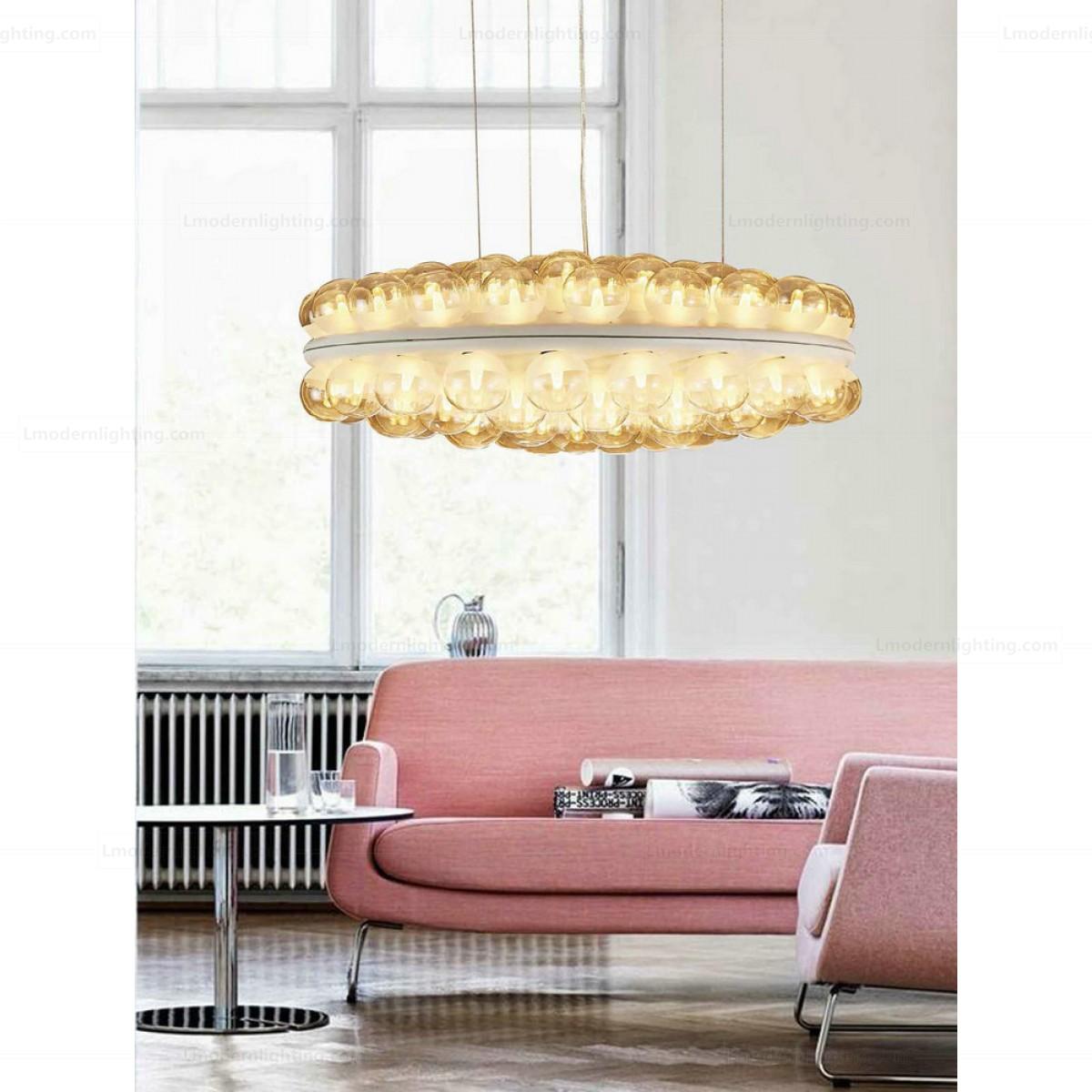 Prop Light Round Suspension Lamp Double Version