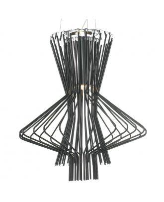 Aluminum Allegretto Ritmico Suspension Lamp