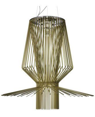 Aluminum Allegro Assai Suspension Lamp