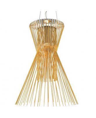 Aluminum Allegro Vivace Suspension Lamp