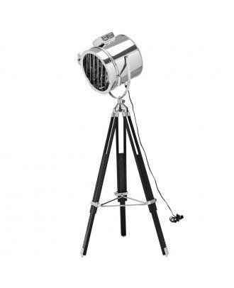 Cinema Stainless Steel Dupond et Dupont Floor Lamp