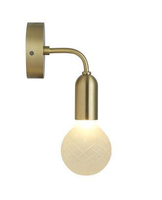 Crystal Bulb Wall Light