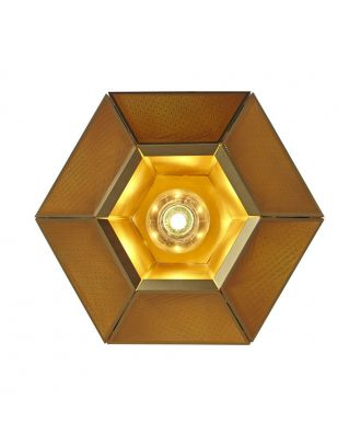 Diamond Hollow Carved Cell Wall Lamp