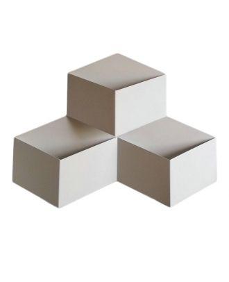 Geometric Squares Metal Fold Wall Light