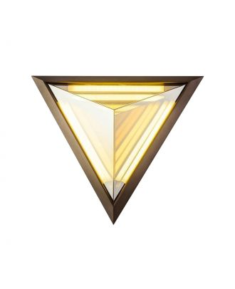 Stella Triangle Wall Light