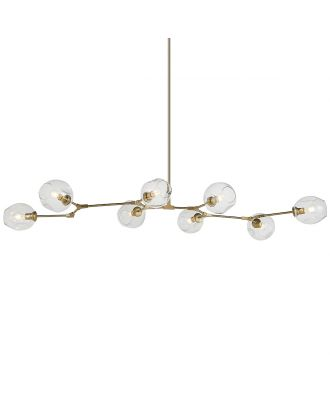 Branching Bubble Chandelier 8 Globes