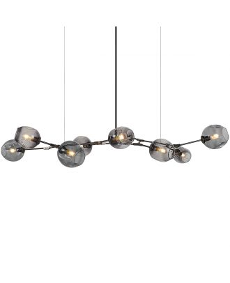 Branching Bubble Chandelier 9 Globes